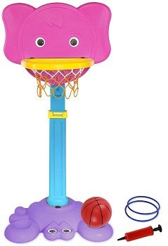 AuAg 2 in 1 Basketball Hoop