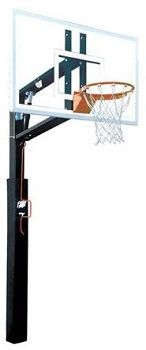 Bison Four Seasons Removable Adjustable Basketball Hoop