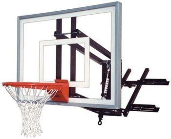 First Team Wall Mounted Basketball Hoop