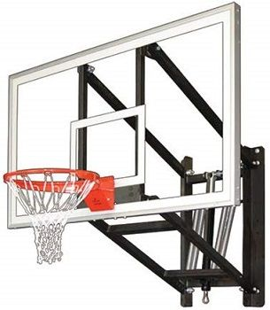 First Team WALLMONSTER ARENA Wall Mounted Adjustable Basketball Hoop