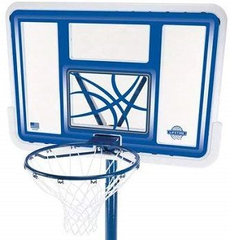Lifetime 44 Acrylic Pool Side Basketball System review