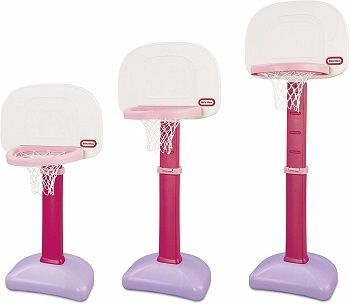 Little Tikes Easy Score Basketball Set, Pink review