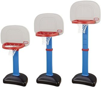 Little Tikes EasyScore Adjustable Basketball Set review