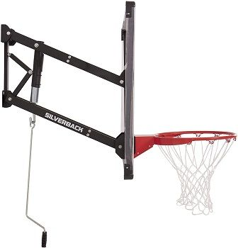 "Silverback NXT 54"" Wall Mounted Basketball Hoop review"