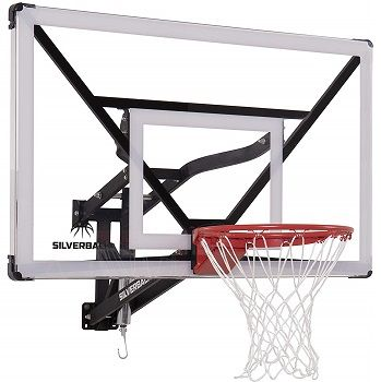 "Silverback NXT 54"" Wall Mounted Basketball Hoop"