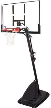 Spalding 54 Polycarbonate Portable Basketball System