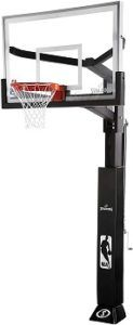 Spalding 60 Inch Glass Arena In-Ground Hoop review