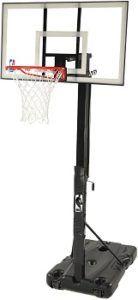 Spalding NBA 54 Portable Angled Basketball Hoop