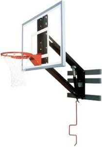 Bison Wall Mounted Adjustable Basketball Hoop