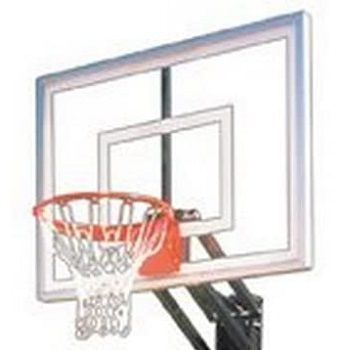 CUSTOM Portable Basketball System With Acrylic Backboard review