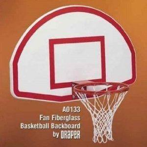 Draper Fan-Style Fiberglass Backboard review
