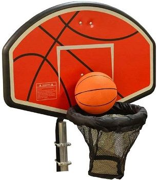 JumpKing Trampoline Basketball Hoop