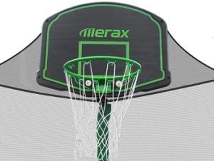 Merax Trampoline With Safety Enclosure Net review