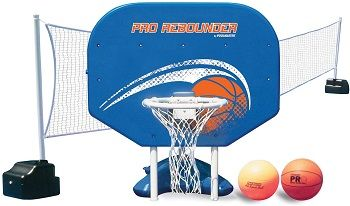 Poolmaster Pro Rebounder Swimming Pool Basketball System