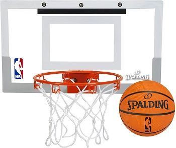 Spalding NBA Jam Over-The-Door Basketball Hoop