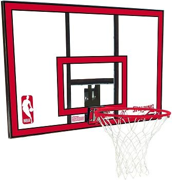 Spalding Polycarbonate Basketball Backboard & Rim Combo