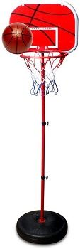 Sweet Time Kids Basketball Hoop Stand Set