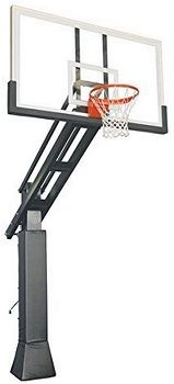 First Team In-ground Adjustable Basketball Goal