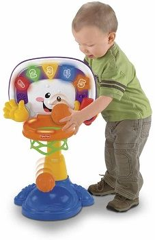Fisher-Price Laugh & Learn Basketball System review
