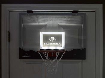 Silverback LED Over The Door Basketball Hoop review