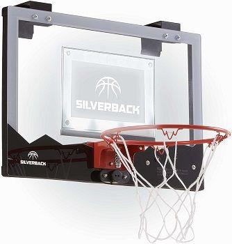 Silverback LED Over The Door Basketball Hoop